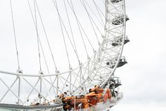 A view of London Eye in London Stock Images