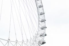 A view of London Eye in London Royalty Free Stock Photography