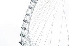 A view of London Eye in London Royalty Free Stock Photo