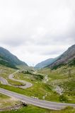 View of famous Transfagarasan Highway in Romania Royalty Free Stock Photo