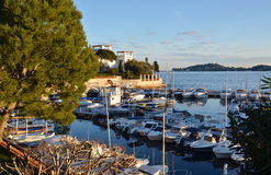 View on famous villa Kerylos, Beaulieu-sur-Mer, French Riviera, France Royalty Free Stock Photo