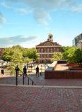 View of Faneuil Hall, Boston Stock Image