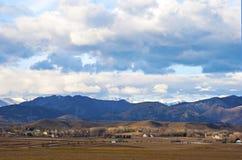 View of Farmland Royalty Free Stock Photo