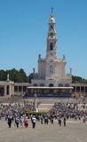 View of Fatima Santuary Stock Photography
