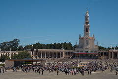 View of Fatima Santuary Stock Photos