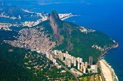 Aerial Rio de Janeiro Royalty Free Stock Image
