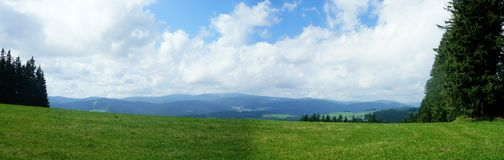 View of the Feldberg massif in the Black Forest Royalty Free Stock Images
