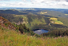 View from Feldberg top, Black Forest Stock Photo