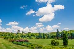 View on the Female St. Panteleimon Monastery Royalty Free Stock Image