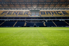 View of Fenerbahce Sukru Saracoglu Stadium in Istanbul, Turkey Royalty Free Stock Photo