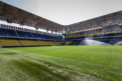 View of Fenerbahce Sukru Saracoglu Stadium in Istanbul, Turkey Stock Photos