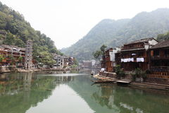 View of fenghuang Royalty Free Stock Images