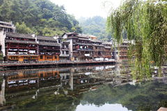 view of fenghuang Royalty Free Stock Photography