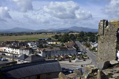 A view from Ferns Castle Royalty Free Stock Images