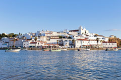 View on Ferragudo in Portugal Royalty Free Stock Image