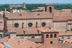 View of Ferrara. Emilia-Romagna. Italy. Stock Photos