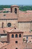 View of Ferrara. Emilia-Romagna. Italy. Stock Photography