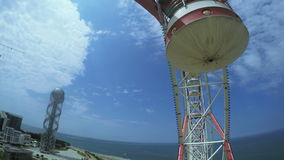 View Ferris wheel stock video
