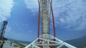 View Ferris wheel stock video footage