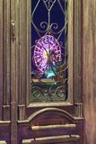 Old vintage door royalty free stock image