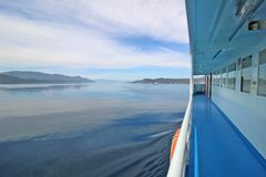 View from ferry boat Royalty Free Stock Photo