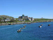 View from the ferry to Iona. Scotland Royalty Free Stock Images
