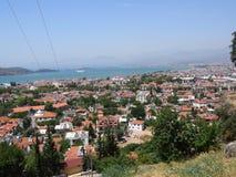 View of Fethiye stock photo