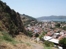 View of Fethiye royalty free stock photos