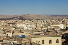 View of fez at dusk Stock Photo