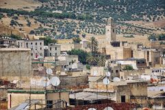 View of Fez Medina Royalty Free Stock Photography
