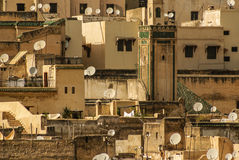 View of Fez medina (Old town of Fes), Morocco Stock Photo