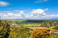 View on fields of Andalusia Royalty Free Stock Images