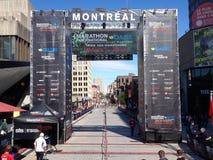 Montreal marathon royalty free stock photo