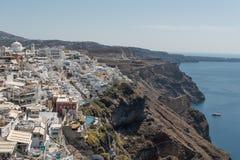 View at Fira. View at city Fira in Santorini stock image
