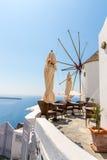 View of Fira town - Santorini island,Crete,Greece.   Royalty Free Stock Photography
