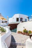 View of Fira town - Santorini island,Crete,Greece.   Stock Image