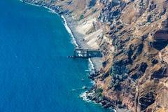 View of Fira town - Santorini island,Crete,Greece. Royalty Free Stock Image