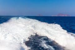 View of Fira town - Santorini island,Crete,Greece Royalty Free Stock Photography