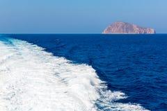 View of Fira town - Santorini island,Crete,Greece Royalty Free Stock Photos