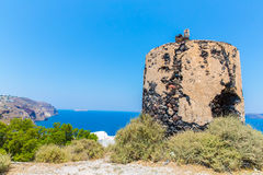 View of Fira town - Santorini island,Crete,Greece Royalty Free Stock Photo