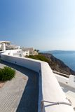 View of Fira town - Santorini island,Crete,Greece. Royalty Free Stock Photos