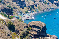 View of Fira town - Santorini island,Crete,Greece Stock Image