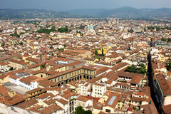 View of Firenze from Dome Royalty Free Stock Image