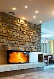 Fireplace Stock Image