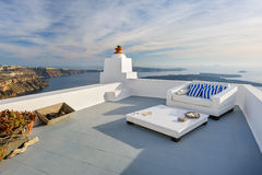 View of Firostefani, Santorini Royalty Free Stock Image