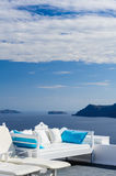 View of Firostefani, Santorini Royalty Free Stock Photo