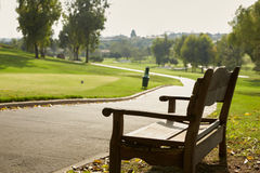 View Of First Tee On Golf Course Royalty Free Stock Image