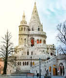 View on fisherman bastion. Budapest, Hungary, Europe. Royalty Free Stock Images