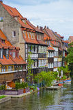View on fisherman houses in Little Venice in Bamberg in Germany Stock Image
