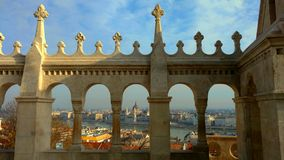 View from Fisherman`s Bastion royalty free stock photography